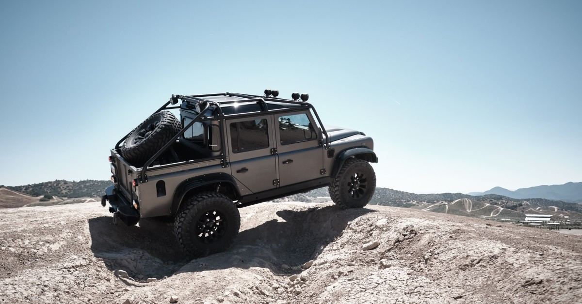 This 525hp Spectre Defender Is Ready To Fulfill Your 007