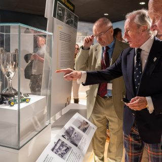 Paying Tribute To One Formula 1 Legend From Another: Sir Jackie Stewart Officially Opens The Jim Clark Motorsport Museum