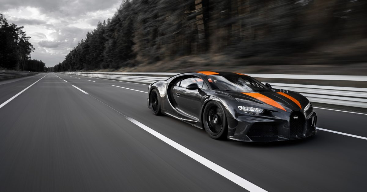 Bugatti Becomes The First Manufacturer To Break Through The 300mph Barrier!