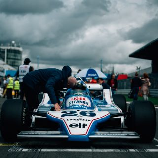 Rain At The Nürburgring Sets A Dramatic Mood For Vintage Formula 1 Cars, Even On The Short Track
