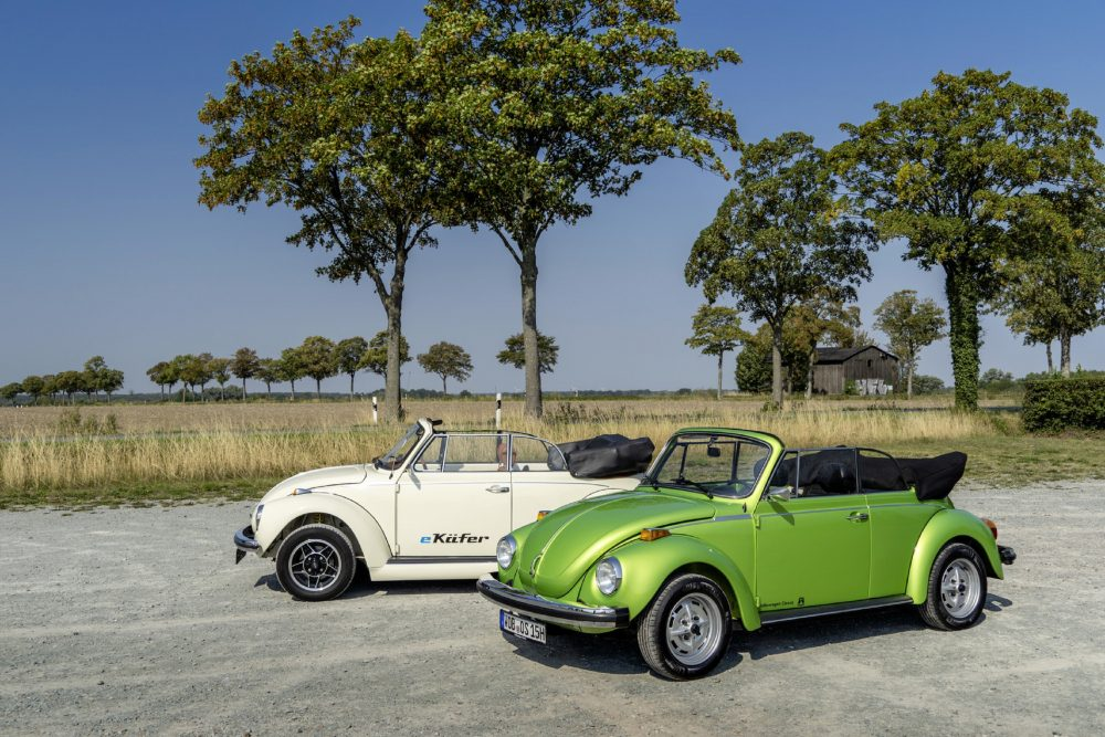 Here's A Classic Beetle You Can Park In The Driveway Without