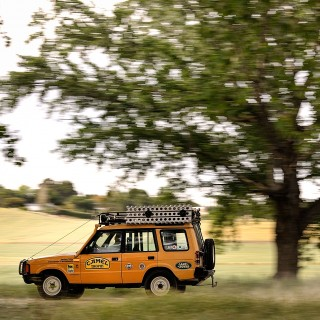 GALLERY: Go Behind The Scenes On Our Land Rover Discovery Camel Trophy Film Shoot