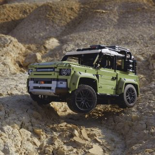 Whatever You Think Of The New Land Rover Defender, You Have To Love The LEGO Technic Version