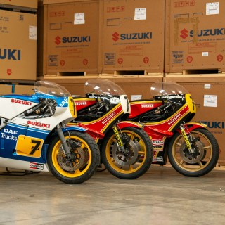 Suzuki Is Restoring Some Of Two-Times Motorcycle World Champion Barry Sheene's Most Iconic Racing Bikes