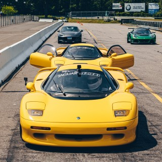Only 53 Jaguar XJR-15s Were Built And Most Of Them Were At This Track Day