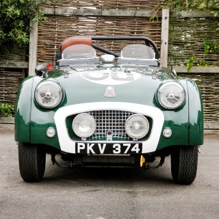 Not Only Was This Triumph TR2 A Works Le Mans Entry, It Was Also Owned By King Hussein Of Jordan