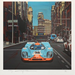 Three New Porsche Prints From Artist Manu Campa In The Petrolicious Shop