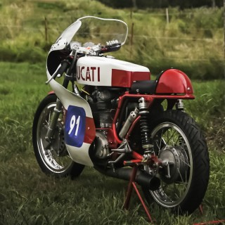 GALLERY: Go Behind The Scenes On Our 1969 Ducati Film Shoot