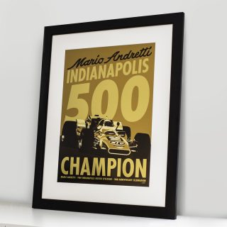 Petrolicious Shop Celebrates Mario Andretti's 1969 Indy 500 Victory