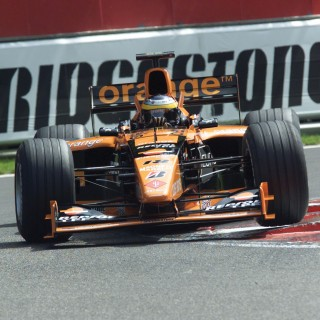 The Orange Arrows A21s Were The Very Best Of The Formula 1 Team's Race Cars