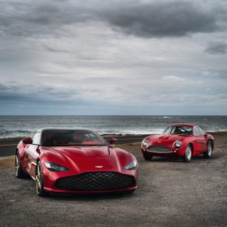 At Last, Here's The First Sight of The New Aston Martin DBS GT Zagato With The DB4GT Zagato Continuation It Sells With