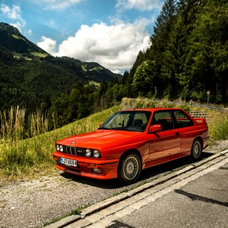 This Is What It's Like To Drive A Bone-Stock BMW E30 M3 In The Austrian Alps