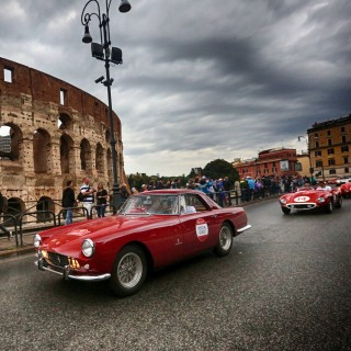 Is There Anything More Quintessentially Italian Than 80 Classic Ferraris Driving Through Rome?