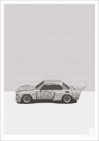 BMW 3.0 CSL Art Car 'Stella'