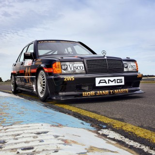 Mercedes Chose This 1986 190E Touring Car To Mark 125 Years Of Motorsport