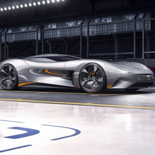 The Jaguar Vision GT Coupe Is A Digital Machine Inspired By The Marque's Real-World Sports Cars