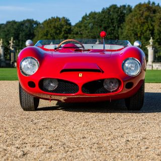 Stunning Ferrari 196 SP Sets The Tone For Inaugural Auto Royale Concours Event