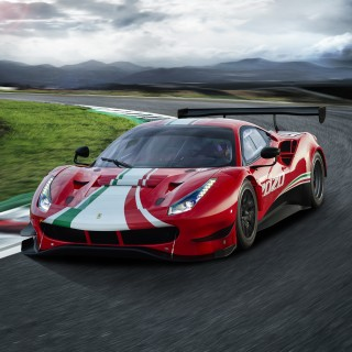 The Ferrari 488 GT3 and Challenge Race Cars Evolve At Finali Mondiali