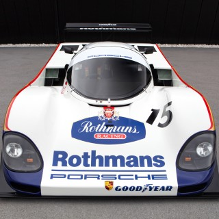 Iconic Race-Winning Rothmans Porsche 962C Leads Attractions At Forthcoming London Classic Car Show