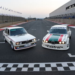 Road And Race BMW 530 MLE Variants Were Reunited At The Legendary Kyalami Grand Prix Race Track