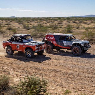 Ford Bronco Racing Prototype Debuts In The Desert 50 Years After Rod Hall's Momentous Baja 1000 Victory
