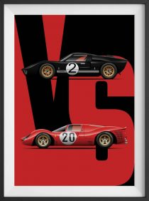 Battle of the Heavyweights: Ford GT40 v. Ferrari 330 P3