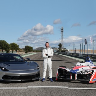 Automobili Pininfarina's Battista Electric Car Customers To Get To Sample Mahindra's Formula E Racer