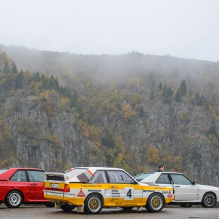 Spending A Rainy Day With The International Audi Sport Quattro Club