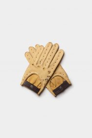 Café Leather X Manu Campa Triton Driving Gloves