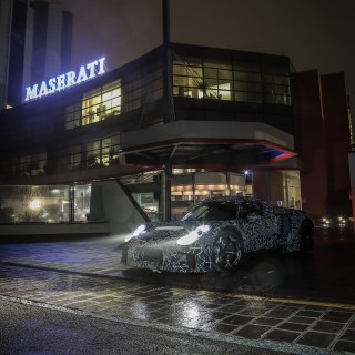 Disguised Maserati Prototype Signals The Next Step In The Marque's Future