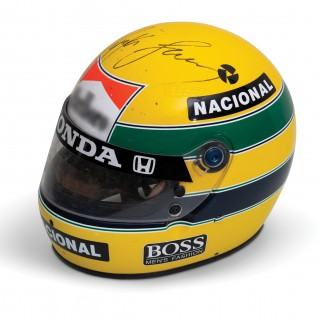 Ayrton Senna And Michael Schumacher Formula 1 Memorabilia Now Up For Grabs At Online Auction