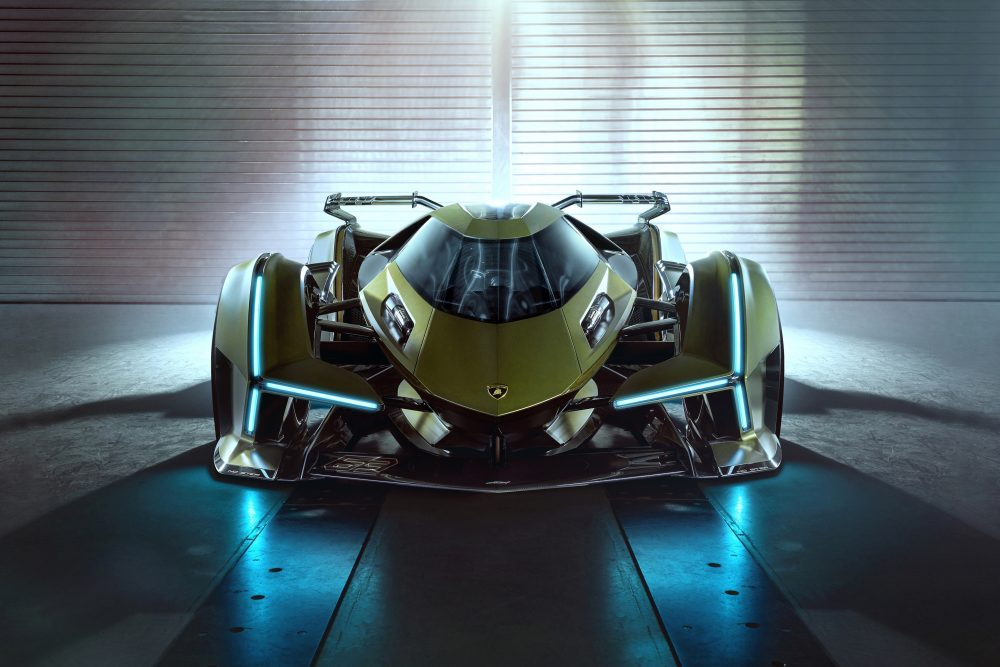 The Lamborghini Lambo V12 Vision Gran Turismo Is Virtually The Coolest Thing You Will See Today Petrolicious