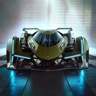 The Lamborghini Lambo V12 Vision Gran Turismo Is Virtually The Coolest Thing You Will See Today
