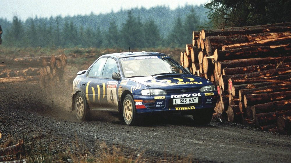 five lesser known facts about colin mcrae s 1995 world rally championship petrolicious 1995 world rally championship