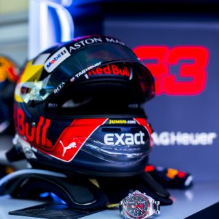 The TAG Heuer Formula 1 Max Verstappen Special Edition Watch