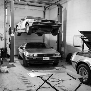 Great Scott! There's A Garage In Ontario That Specialises In DeLoreans