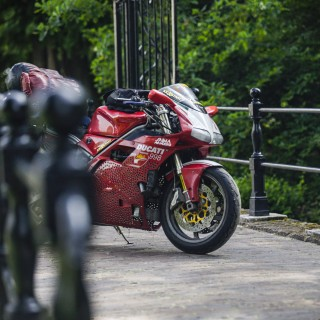 GALLERY: Go Behind The Scenes On Our 2002 Ducati 998 Film Shoot