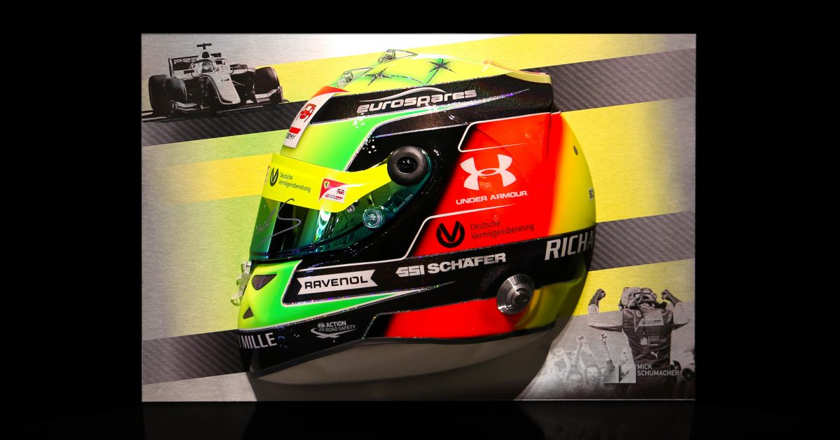 You Can Now Buy 3D Artwork Made From Half Of Mick Schumacher's Helmet