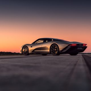 McLaren Speedtail Nails 250mph Run At Kennedy Space Center