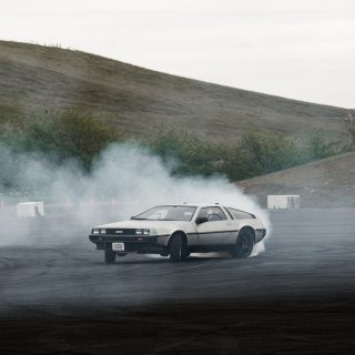This DeLorean DMC-12 Can Drift On Its Own