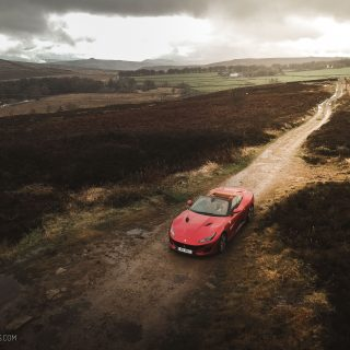Touring The British Countryside In A Ferrari Portofino