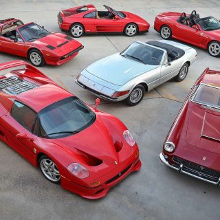 Half A Dozen Ferrari Spiders Up For Auction In Scottsdale