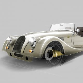 Limited Edition Morgan Plus 4 Celebrates 70th Year Of Production