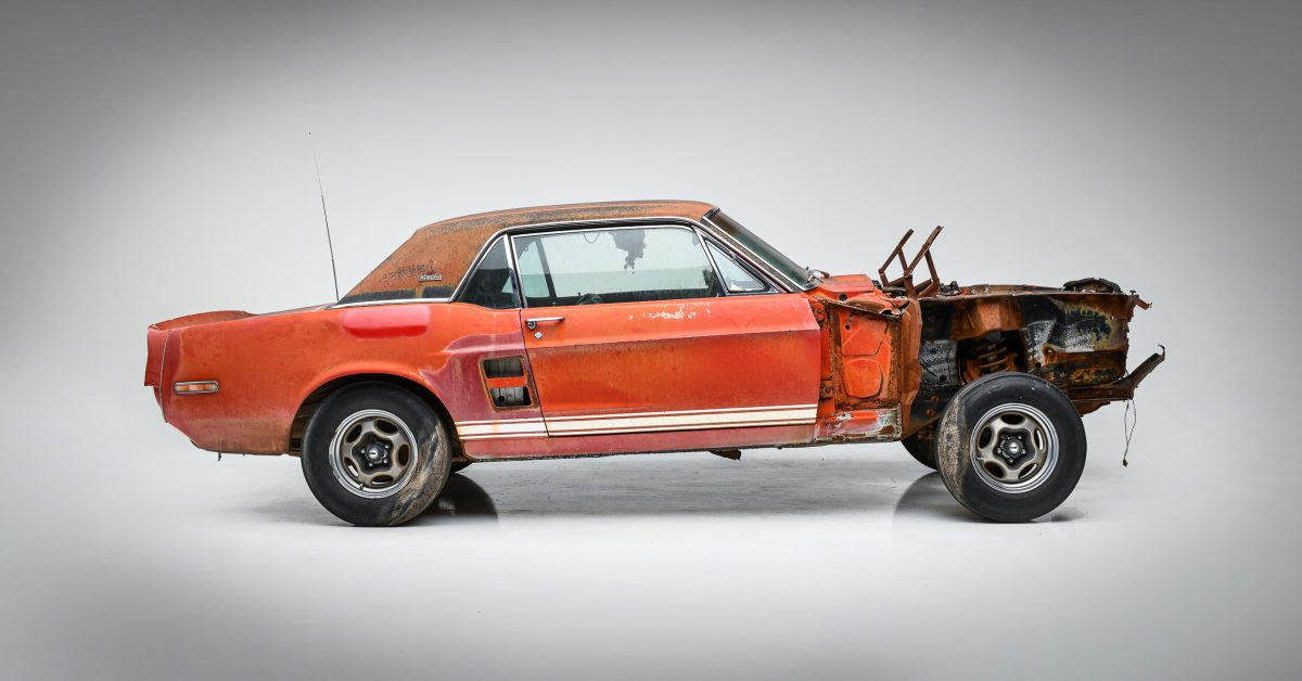 Restored 'Little Red' Prototype Shelby Mustang GT500 Debuts At Auction
