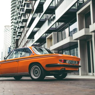 Modified BMW 3.0 CSL: Bringing Bavarian Flare(s) To The London Docklands