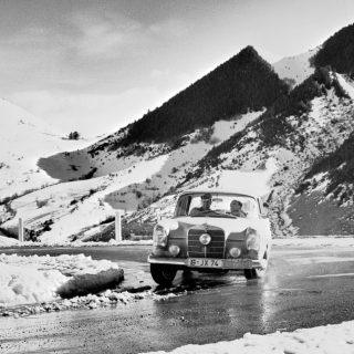 60 Years Ago Today, Mercedes-Benz Took Its Only Rallye Monte-Carlo Win