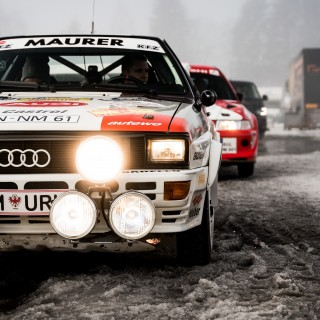 GALLERY: Sliding, Skijoring, And Clipping Snow Drifts At The GP Ice Race In Zell am See
