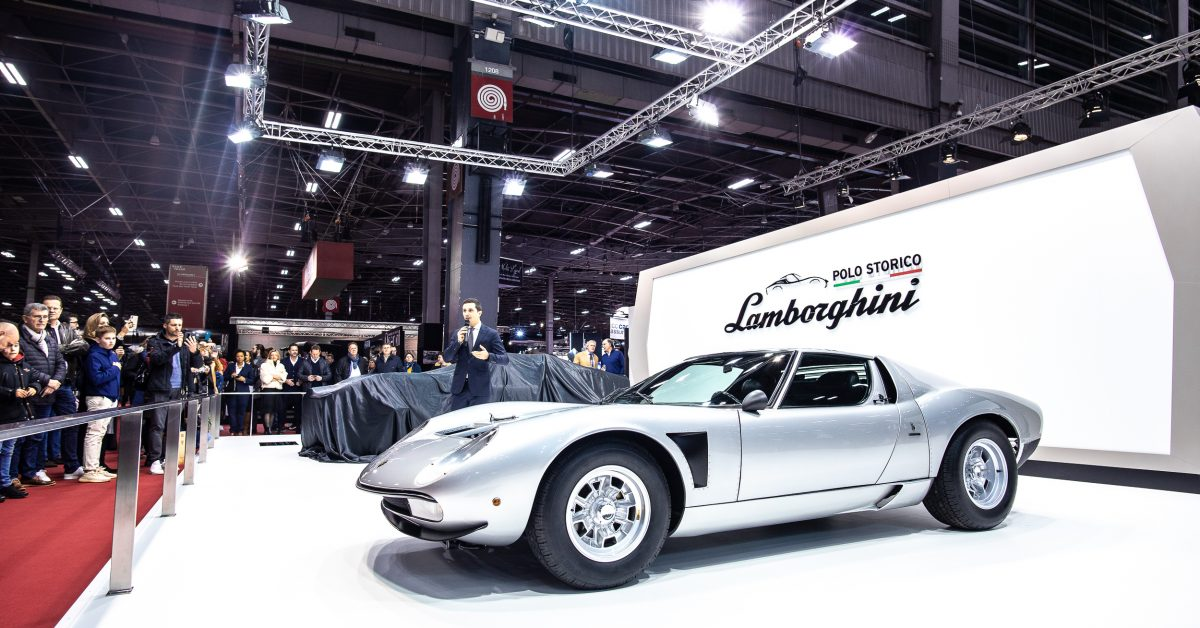 This Gorgeous, Full Restored Lamborghini Miura SVJ Is One Of Only Four Ever Built