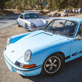 Chasing A Porsche 911 Carrera 2.7 RS With Its Very Own Tribute Car