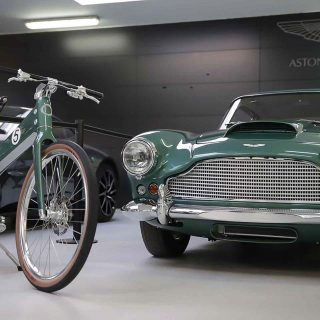 French Bike Maker Teams With Aston Martin For DB4 Homage